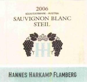 Sauvignon blanc z południowej Styrii