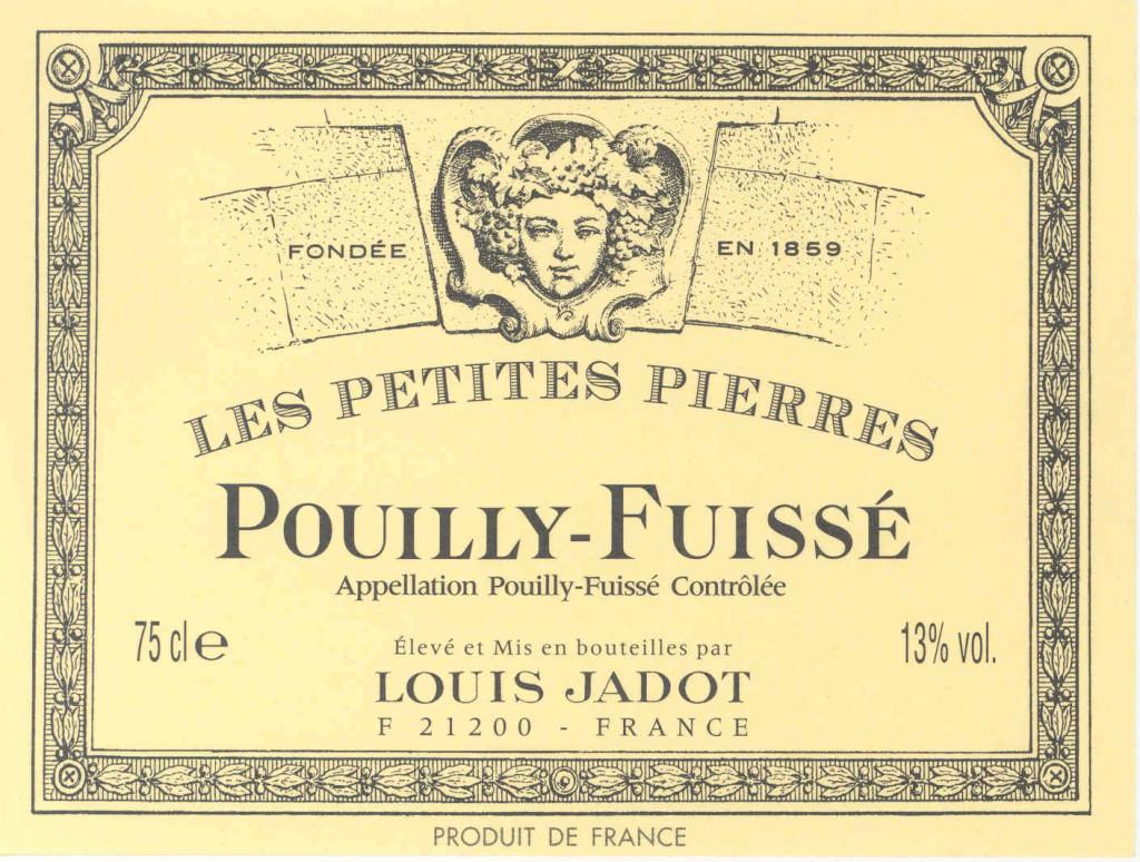 L.Jadot Pouilly Fuisse