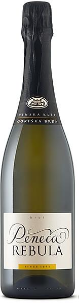 Wino musujące ze szczepu rebula z winnicy Goriška Brda