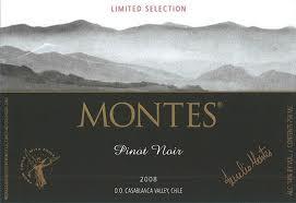 Pinot Noir z regionu Casablanca od Montesa