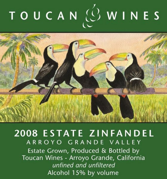 Zinfandel z Arroyo (Toucan Wines)