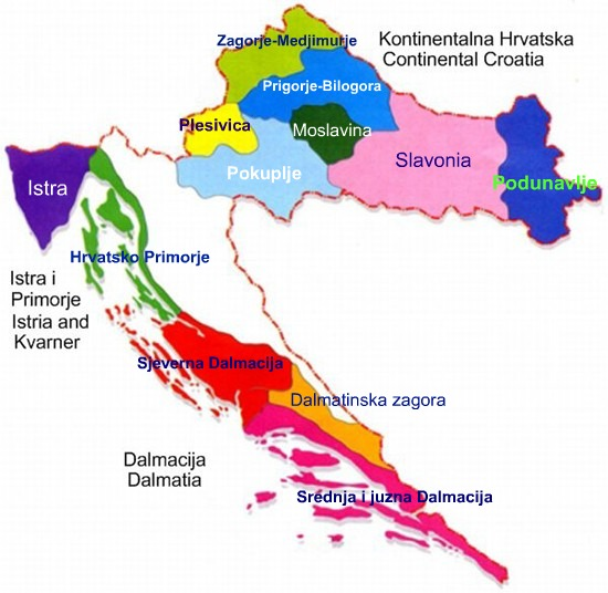 croatian-wine-map