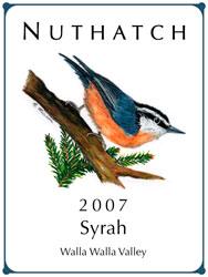 Syrah z Seven Hills Vineyard w Walla Walla w Oregonie
