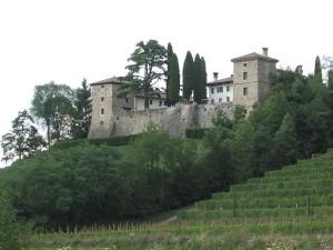Castello di Trussio w Dolegna del Collio (Gorizia)
