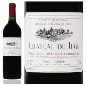 Chateau-du-Juge z Premières Côtes de Bordeaux