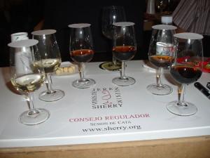 Różne rodzaje sherry